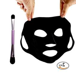 COLOR CLEANER Reusable Silicone Mask Cover Silicon Mask Mois