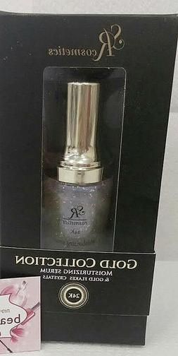 SR Cosmetics GOLD Collection moisterizing Hyaluronic Acid &