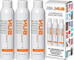 Spray Tan Micro Mist Self Tanner - Dark 3-Pack  - Natural Su