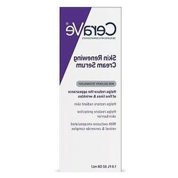 CeraVe Skin Renewing Retinol Face Cream Serum for Fine Lines