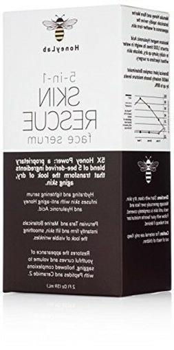 HoneyLab Skin Rescue Face Serum with Manuka Honey, Hyaluroni