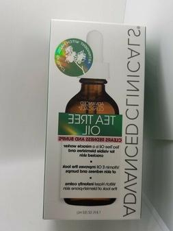 ADVANCED CLINICALS Tea Tree Oil  for redness and bumps1.8 OZ