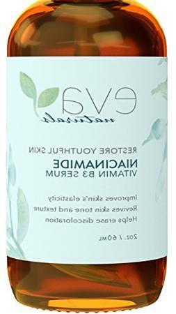 Vitamin B3 5% Niacinamide Serum by Eva Naturals  - Niacinami