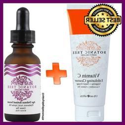Vitamin C Cleanser + Retinol Serum C22 With Hyaluronic Acid