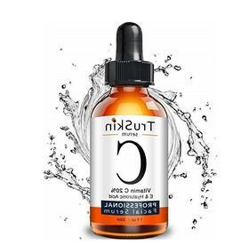 TruSkin Naturals Vitamin C Serum Face Organic Anti-Aging Top