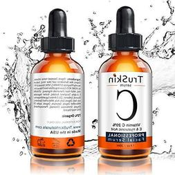Vitamin C Serum For Face, Topical Facial With Hyaluronic Aci
