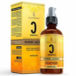 Vitamin C Serum for Face with Hyaluronic Acid and Vitamin E+