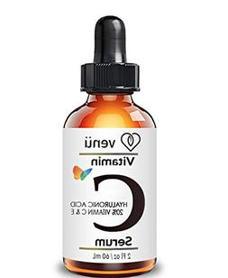 Venu Vitamin C Serum, with Hyaluronic Acid, Aloe and Vitamin