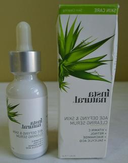 InstaNatural Vitamin C Serum with Hyaluronic Acid - 1 oz / 3