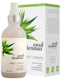 InstaNatural Vitamin C Facial Toner - Anti Aging Face Spray