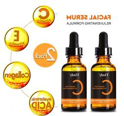 Vitamin C Serum for Face to Boost Collagen with Hyaluronic A