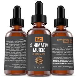 Radha Beauty Vitamin C Serum for Face, 2 fl. oz - 20% Organi